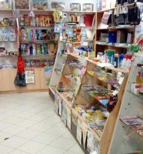 Магазин канцтоваров, игрушек