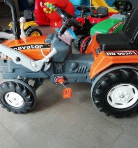Педальная машина Пилсан Excavator (арт. 07-297)