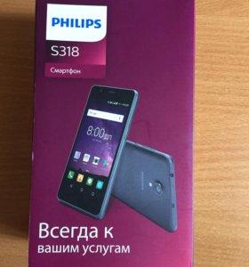 Телефон Philips s318