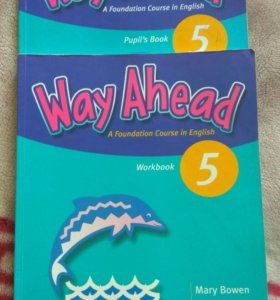 Way ahead 5 класс учебник и тетрадь