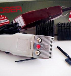 Профессиональная машинка для стрижки волос. Moser