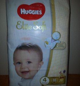 Huggies подгузники и трусики Elite Soft 3 и 4 разм