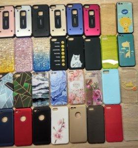 Чехлы и стекла на iPhone 7 или 8