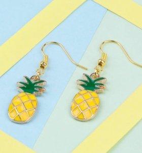 Серёжки-ананасы