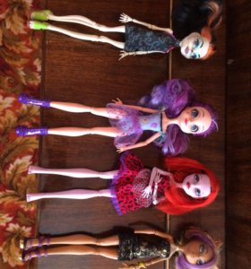Куклы «Монстр хай»