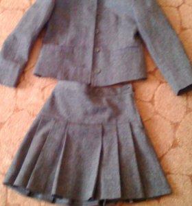 Жакет+юбка