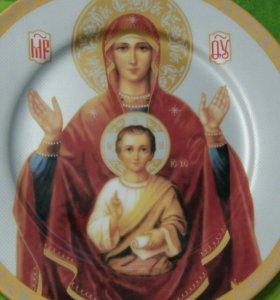 Сувенирная тарелка-икона