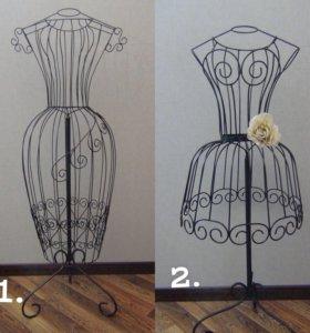 Декоративные манекены ручной работы