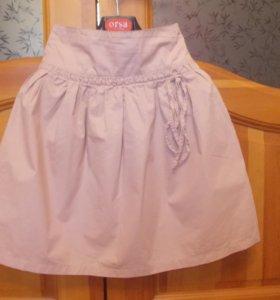 Летняя юбка для девочки 150