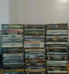 DVD с фильмами 122 шт.