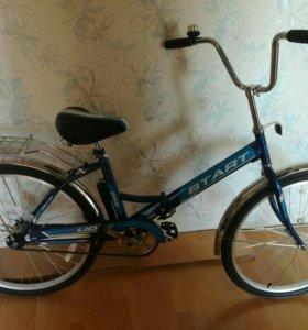 Велосипед новый!
