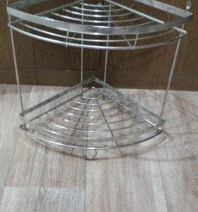 Хромированная подставка для кухни