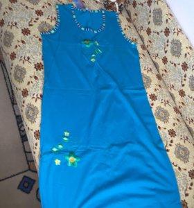 Новое домашнее платье