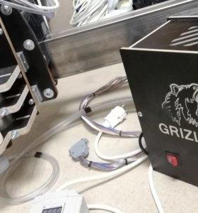 Фрезерный станок с чпу. Поле 1000х1200. Grizli CNC