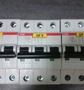 Выключатель автоматический трехполюсный