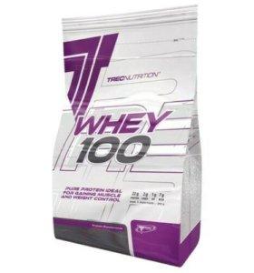 Протеины whey 100 trecnutrichion