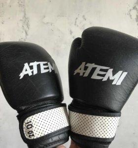 Боксерские перчатки ATEMI 10 oz