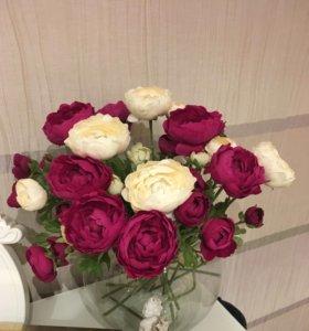 Искусственные цветы(букет)