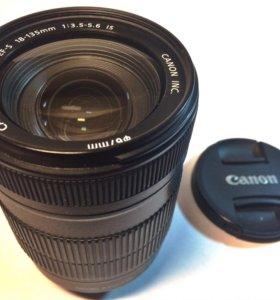 Объектив Canon EF-S 18-135mm IS