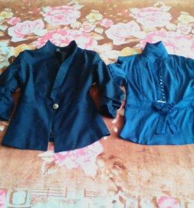 Пиджак и блузка за две вещи