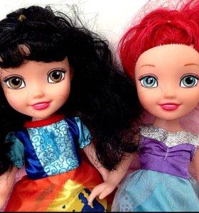 Куклы + диванчик