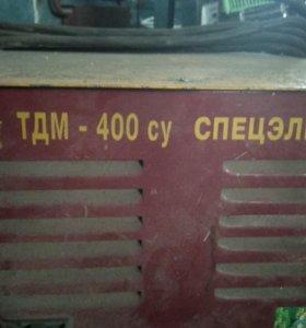 Аппарат сварочный ТДМ 400 СУ