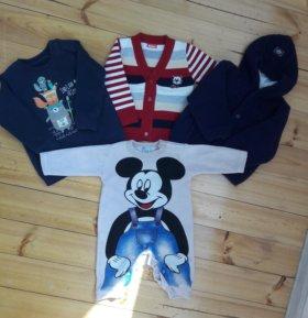 Вещи для мальчика р74-80