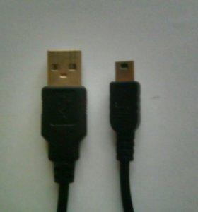 USB mini 7x2 2mm 2 шт.
