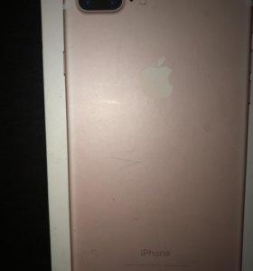 iPhone 7+ 128гб Rose Gold
