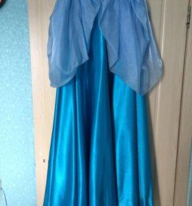 Костюм-косплей на принцессу Дисней. Платье Золушки