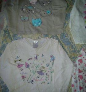Пакет вещей для девочки 80рост