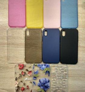 Чехлы и стекла на iPhone X