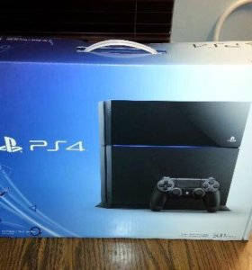 Sony ps4 500gb+4игры