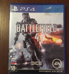Battlefield 4 диск на PlayStation 4