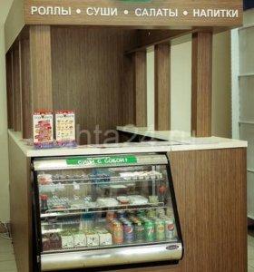 Стойка с холодильным оборудованием