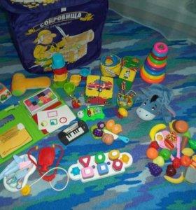 Куча игрушек