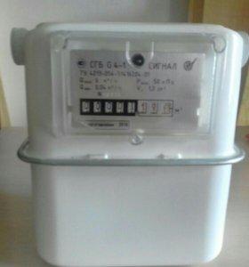 Счетчик газовый СГБ-Г4 сигнал левый