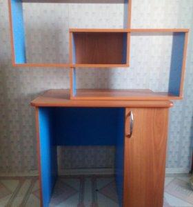 Шкаф , полка и стол