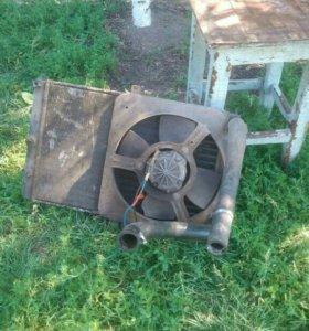 Радиатор с вентилятором ваз
