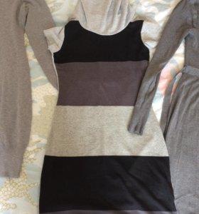 платья по 200р размер 42