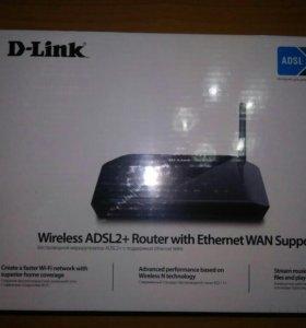 Модем новый D-link dsl-2640u