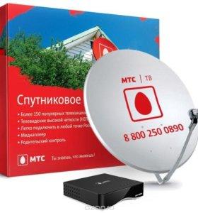 Комплект спутникового телевидения МТС ТВ
