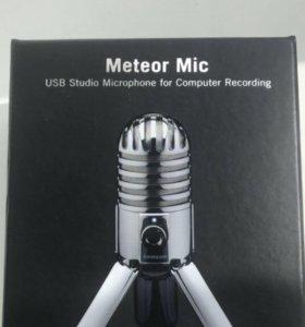 Конденсаторный микрофон Samson Meteor MIC