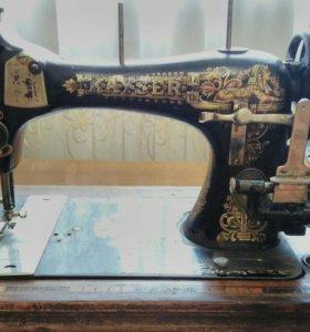 Продам швейную машину Кайзер, конец 19 века.