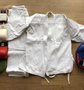 Кимоно, накладки для спаррингов, лапа