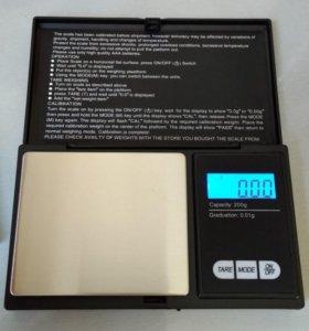 Карманные электронные весы с большой площадкой
