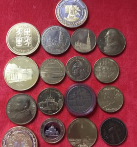 Разные Сувенирные коллекционные монеты