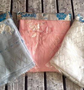 Плед- одеяло на выписку и для прогулок (новый)