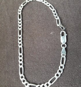 Браслет серебро 525