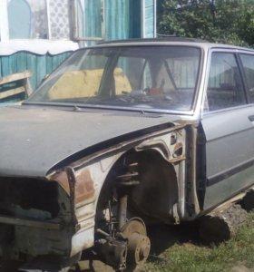 Автомобиль BMW-520 на запчасти